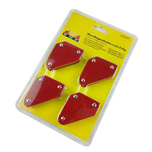ФОТО 4 pcs/set mini triangle welding positioner 9lb magnetic fixed angle soldering locator tools without switch welding accessories