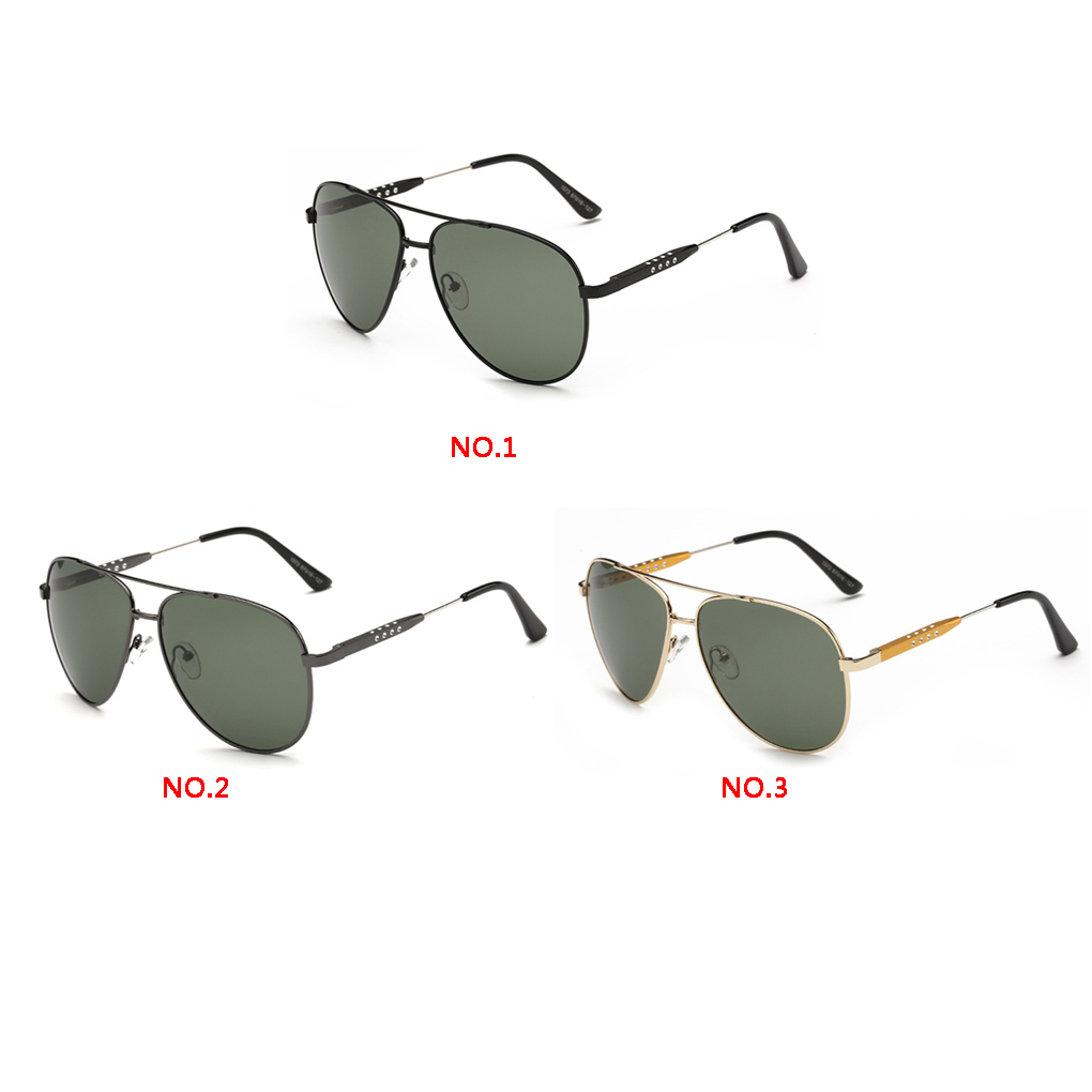 87ebed3eb44a durable Dark green Polarized Light Uv Protection Metal Frame Sunglasses  Glasses Eyeglasses for men-in Sunglasses from Apparel Accessories on  Aliexpress.com ...