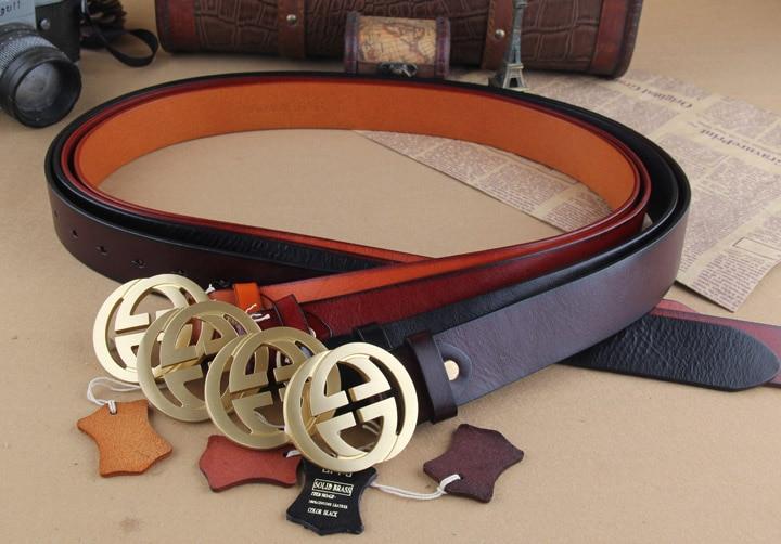 4d0577e437f Genuine Leather Brand Belts For Men Luxury Designer GG Belt Brass Buckle  Man Strap Cinto Masculino Mens Ceinture MBT0234 on Aliexpress.com