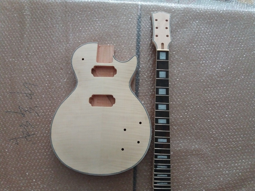 Unfinished-Guitar-Neck-and-body-for-LP-Replacement-22-Fret-rosewood-Fretboard Unfinished-Guitar-Neck-and-body-for-LP-Replaceme unfinished guitar neck and body for esp replacement 24 fret rosewood fretboard