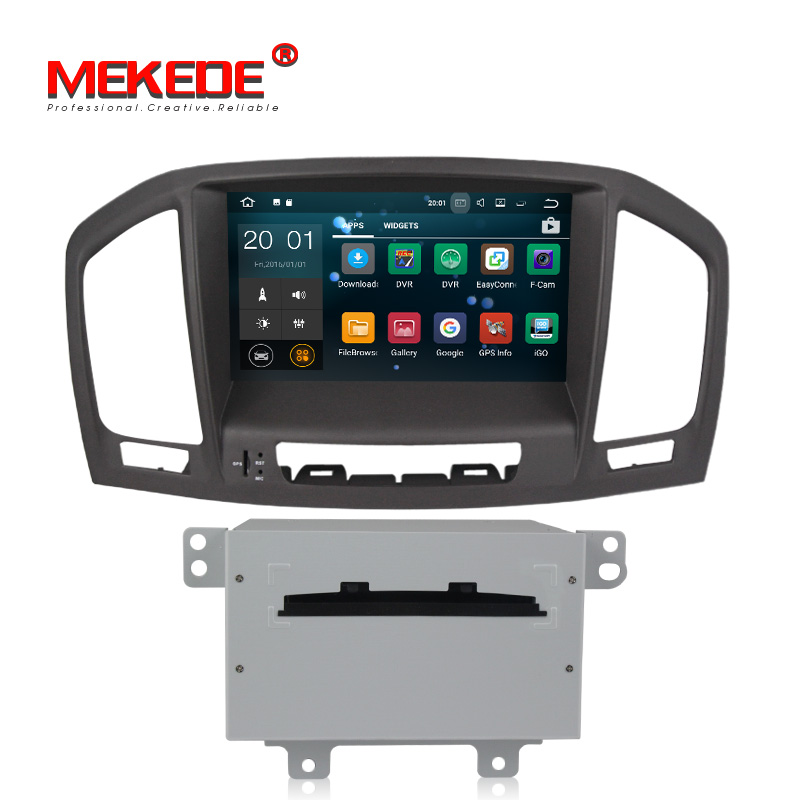 Quad core PX3 Android 7.1.1 Car DVD radio Player Per Opel Vauxhall Insignia CD300 CD400 2009-2013 1.6 ghz 2g di RAM 16g ROM WIFI GPS