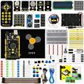 Keyestudio de Starter Kit (MEGA 2560 R3) para proyecto Arduino con caja de regalo + Manual de usuario + 1602LCD + chasis + PDF (en línea) + 35 proyecto + vídeo
