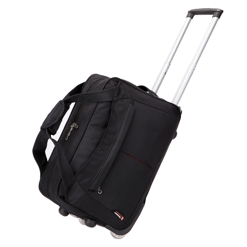 New Arrival Oxford Travel Trolley Bag on Wheels Women Men Unisex Luggage Bag on Wheel Suitcase Travel Duffle Bag with Wheels new folding portable shopping bag shopping buy food trolley bag on wheels bag on wheels buy vegetables shopping organizer bag
