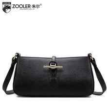 2016 New zooler genuine leather women bag brands designers casual and simple quality women leather shoulder messenger bag