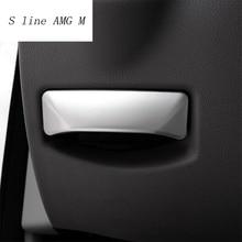 Автомобиль укладки ножной тормоз выпуска коммутатора украшения из нержавеющей стали наклейки для Mercedes Benz E class W212 C класса W204 GLK