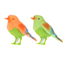 2018 Baby Funny Toys Plastic Sound Voice Control Activate Chirping Singing Bird Funny Toy Gift