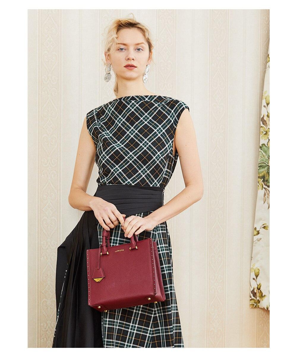 La festin marca bolsa feminina retro luxo