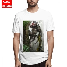 The Jungle Hunter Alien Predator T Shirt Boy Cartoon T-Shirt Round Collar S-6XL Plus Size Tshirt