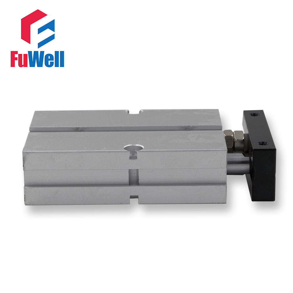 Dual Acting Pneumatic Cylinder TN Type 20mm Bore 70/80/100/150mm Stroke Double Rod Aluminum Alloy Air Cylinder airtac type tn tda series tn 32 70 dual rod pneumatic air cylinder guide pneumatic cylinder tn32 70 tn 32 70 tn32 70 tn32x70