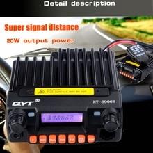 KT 8900R נייד רדיו משדר tri band 136 ~ 174MHz 240 260mhz400 480mhz outpower 25w נייד נייד לרכב רדיו