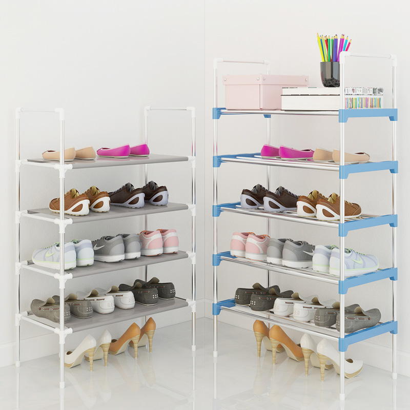 Hot Sale Shoe Rack Easy Assembled Plastic Multiple layers Shoes Shelf Storage Organizer Stand Holder adjustable shoe stand shoe rack easy assembled plastic multiple layers shoes shelf storage organizer stand holder keep room neat door space saving