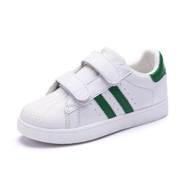 Sneakers casual bianche per bambini jISw6zDip