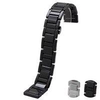 20mm Ceramic Watchband For Samsung Gear S2 Classic R732 R735 Moto 360 2 Gen 42mm Smart