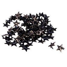 100X Bronze Rivets applies 15mm star rivets bag / Shoes Gloves