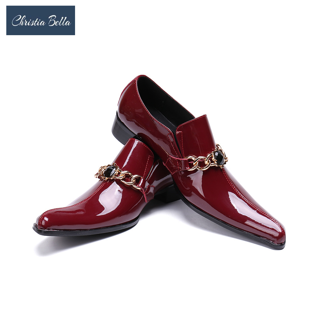 Christia Bella Brand Men Casual Shoes Real Leather Stone Pattern Wine Red Breathable Men Flats Shoes Luxury Shoes for MenChristia Bella Brand Men Casual Shoes Real Leather Stone Pattern Wine Red Breathable Men Flats Shoes Luxury Shoes for Men