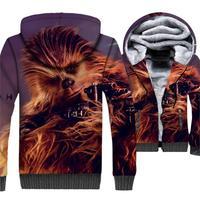 High Quality 3D Print Monkey Hoodie Men Fashion Star Wars Harajuku fantasy Men's Hoodies Male Hooded Coat Harajuku Animal Jacket