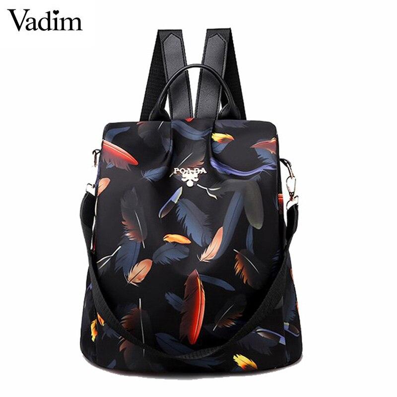 Women Backpacks 2019 Shoulder Bag Women Waterproof Oxford Backpack Female AntiTheft Bagpack School Bags For Girls Mochila Mujer