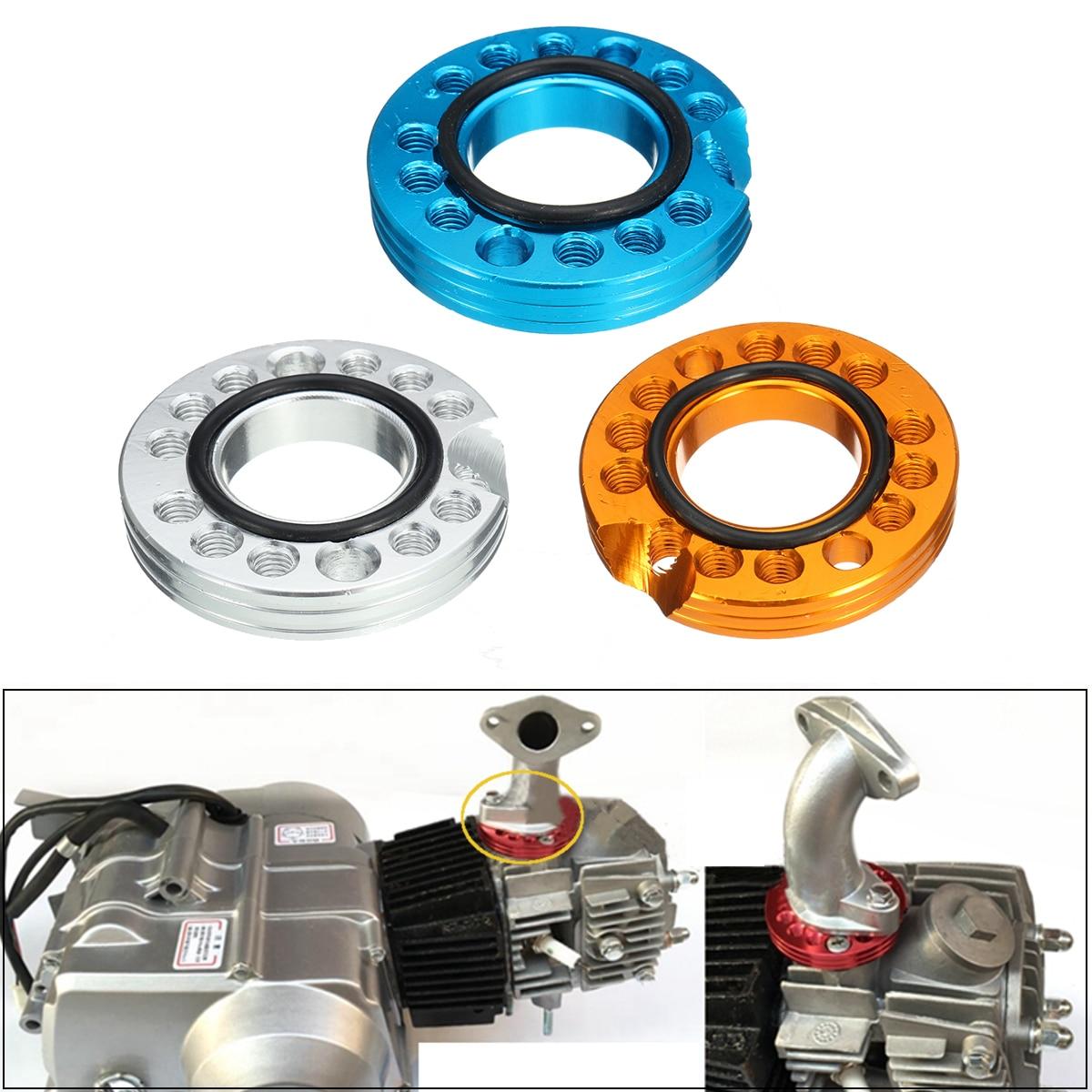 28mm CNC Carb Adjuster Carburetor Inlet Manifold Spinner Plate For Pit Dirt Bike ATV 90cc 110cc 125cc