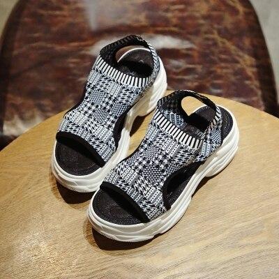 2 Muffin Casual Estación Bottom Europea 1 Sandalias Mujeres Zapatos Verano Las De Grueso Nuevo Caliente 8Ow8qAP