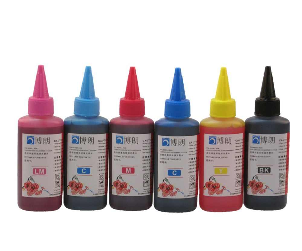 600 Ml Tinta Isi Ulang Kit Untuk Epson T0821-T0826 Printer PIXMA T50 R290 R295 R390 RX590 RX610 RX615 RX690 TX650 printer