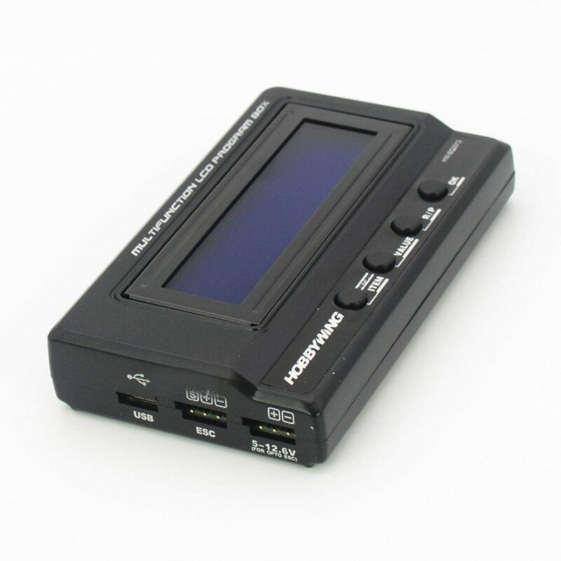 1PC ESC programowanie ustawienie Box V3 V4 LCD elektryczna karta BEC 4.5 V 12.6 V dla zdalnie sterowany model samochodu część zamienna w Części i akcesoria od Zabawki i hobby na AliExpress - 11.11_Double 11Singles' Day 1