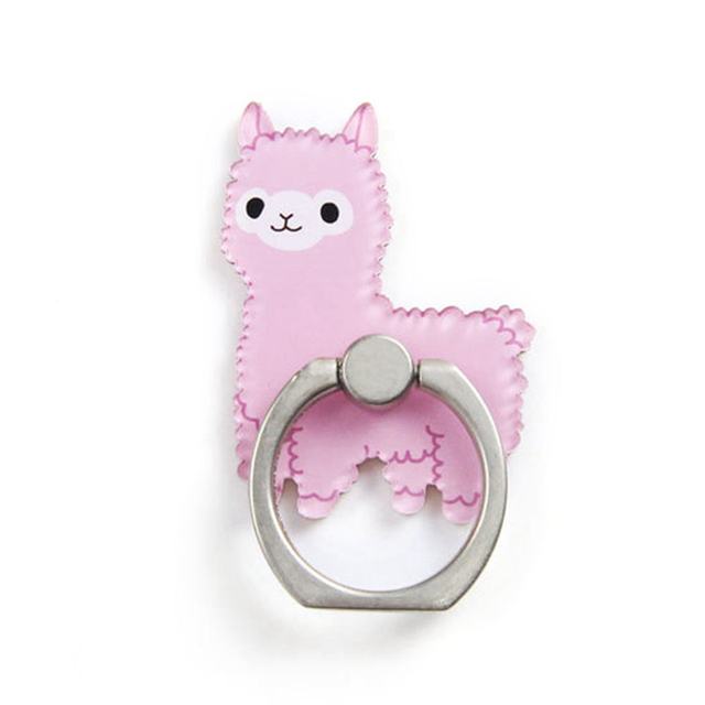 UVR Animal Cat Mobile Phone Stand Holder Finger Ring Smartphone Cute Cat Holder Stand For Xiaomi Huawei All Phone