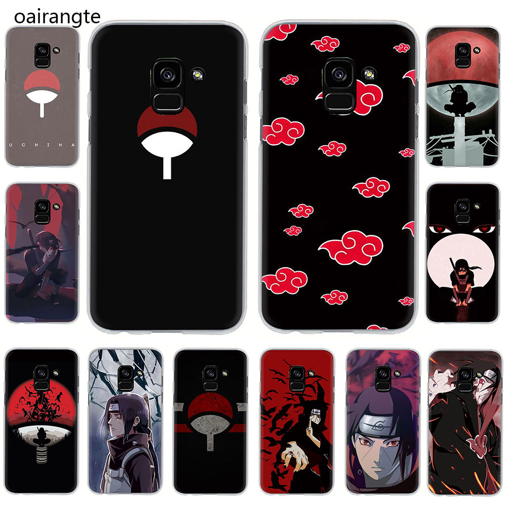 Naruto Shippuden Uchiha Itachi Hard phone cover case for Samsung Galaxy A3 <font><b>5</b></font> <font><b>2017</b></font> A6 7 8 9 2018 A10 30 40 50 70 image