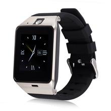 Gv18 bluetooth smart watch teléfono sim soporte de tarjeta tf pedometor monitor de sueño para andriod smartphone