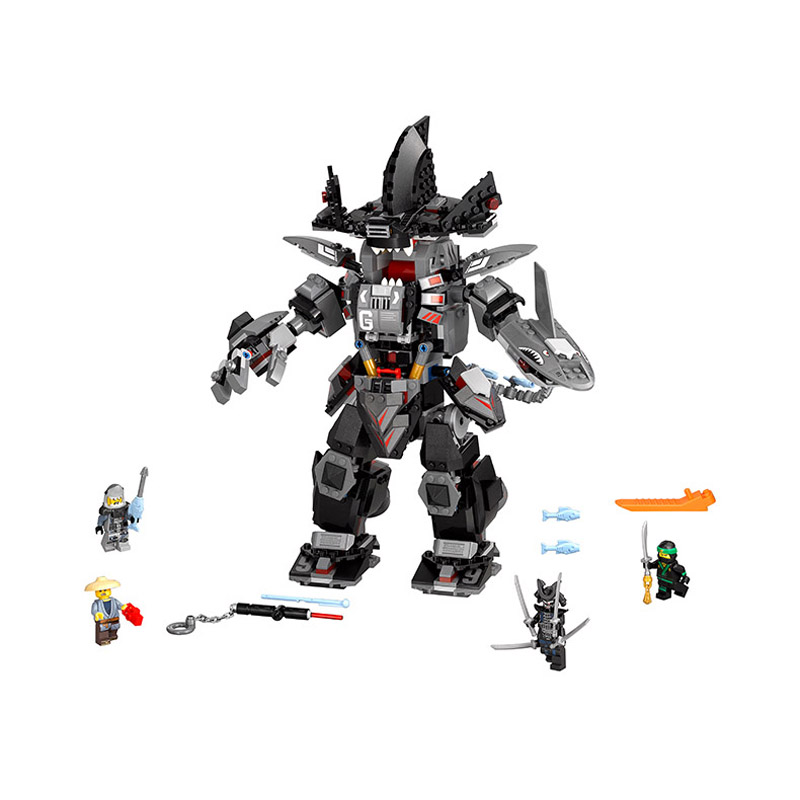 Lepin Pogo Bela 10719 775PCS+ Ninjagoe The Garma Mecha Man Building Blocks Bricks Compatible with Legoe Toys kazi 608pcs pirates armada flagship building blocks brinquedos caribbean warship sets the black pearl compatible with bricks
