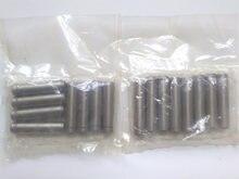 Guías de válvula de admisión y escape para Mitsubishi, 4G63, 4G64, 16 Uds.