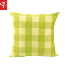 PC 2 unids/lote Cojines Al Aire Libre de Agua Resistan Adorable-nice Bright Plaid Green Home Decorativo Cojines Silla de Oficina Patio