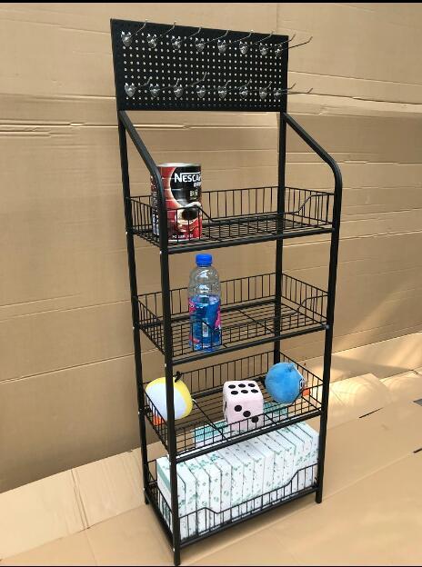 Dépanneur supermarché boisson présentoir fournitures de voiture présentoir à huile rack pluie parapluie rack essuie-glace rack