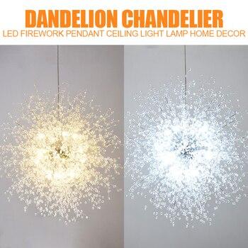 Modern LED Chandelier Lights Lamp Firework Pendant Ceiling Light for Home Living Room Decor