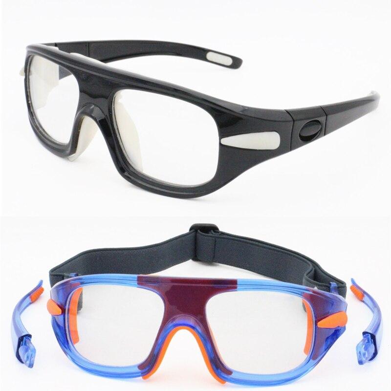 S852 sporting myopia prescription glasses sports eyeglasses with removeabladjustable elastic strap durable basketball eyewear