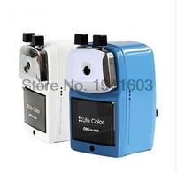 1 Pcs Hot Selling Deli 0620 Full Metal Shell Pencil Machine Hand Pencil Sharpener High Quality
