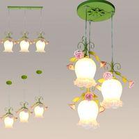 펜 던 트 램프 소박한 꽃과 조명 꽃과 조명 3 펜 던 트 램프 조명 램프 레스토랑 램프 fg7854