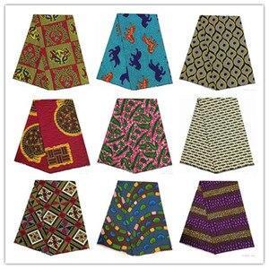 Image 1 - 2019 najnowsze 6 jardów wzory typu african wax kente tkanina gorąca sprzedaży afrykańska ankara wosk tkaniny 100% wosk poliestrowy drukuje dla party1001