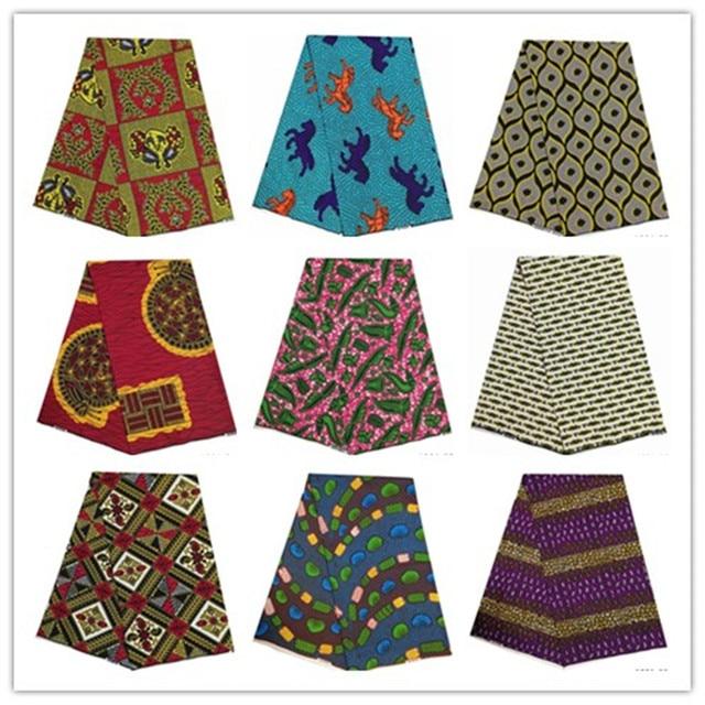 2019 najnowsze 6 jardów wzory typu african wax kente tkanina gorąca sprzedaży afrykańska ankara wosk tkaniny 100% wosk poliestrowy drukuje dla party1001