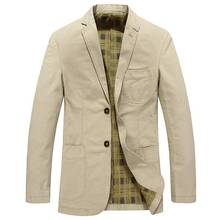 Solid Color Thin Jackets Men Casual Suit Jacket Coat Outerwear 2019 Fashion Spring Mens Male HN04