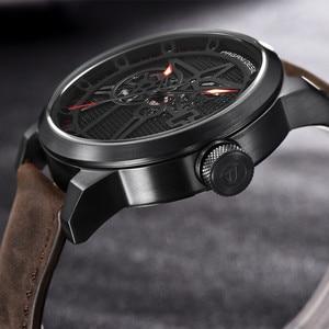 Image 3 - Pagani Skeleton Tourbillon Mechanical Watch Men Automatic Classic Leather Waterproof Wrist Watches Reloj Hombre Mens Gift 2019