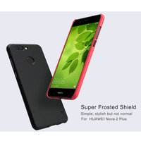 10pcs Lot Wholesale NILLKIN Super Frosted Shield Case For Huawei Nova 2 Plus PC Plastic Back