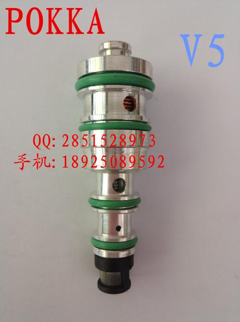 Frete Grátis, válvula de controle de compressor V5, AVEO lnductor v5 válvula de controle de ar condicionado controlador de pressão