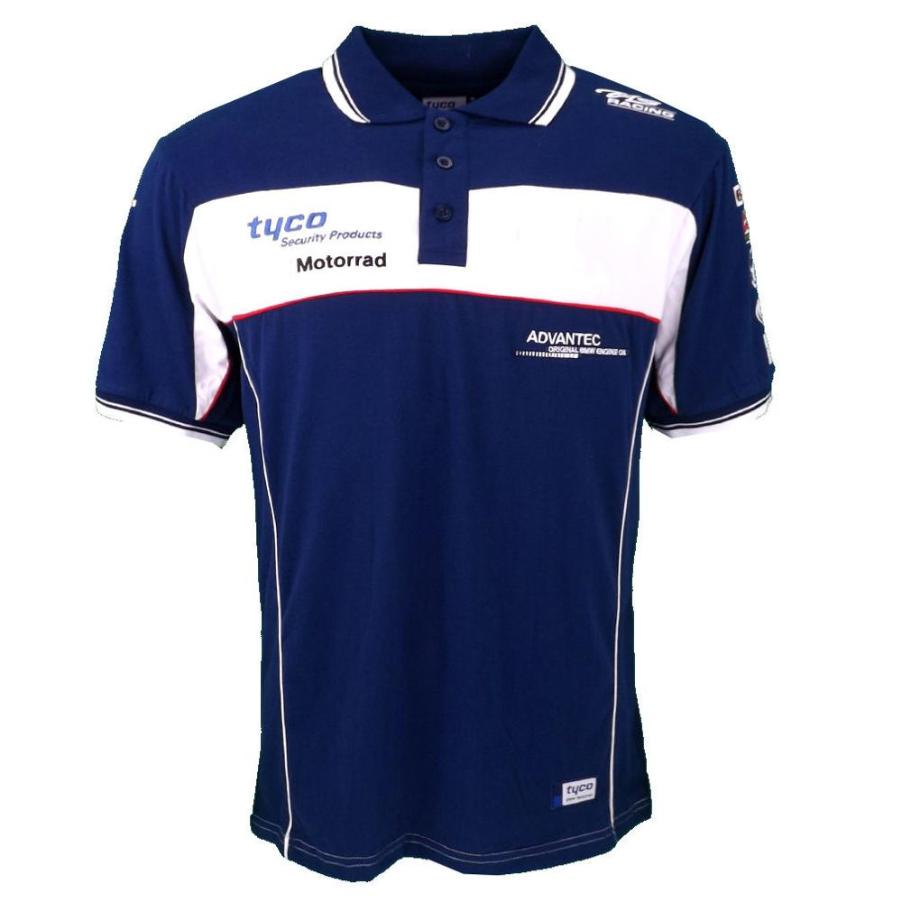 New stock arrival! MOTO GP Motorcycle Jersey Locomotive Cotton T-<font><b>shirt</b></font> POLO <font><b>Shirt</b></font> for <font><b>BMW</b></font> Short Sleeve image