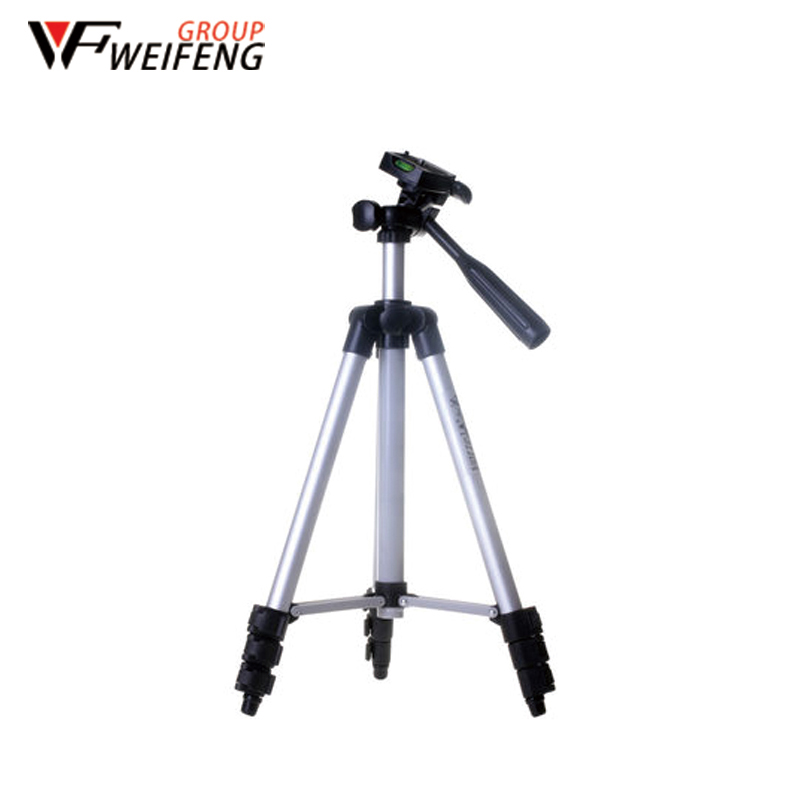 Tripod WT-3110A Tripods for Apple HUAWEI Video Mobile Phone Portable Travel Aluminum Camera