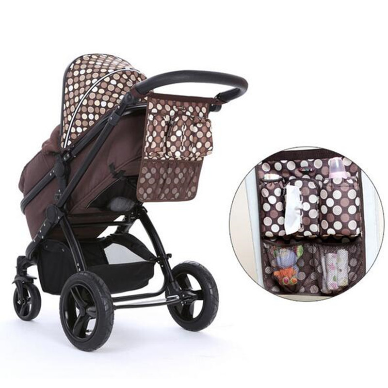 Colorland Diaper <font><b>bag</b></font> Baby Nappy Stroller <font><b>Bag</b></font> Organizer Cooler Thermal <font><b>Bag</b></font> Hanging Carriage Baby Diaper Stroller Organizer <font><b>Bag</b></font>