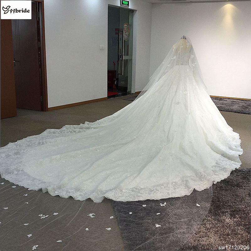sw17120206-9 surmount custom made royal train wedding dresses 2018 ball gown long sleeves robe de soiree long robe de mariage wedding dresses Surmount Custom Made Royal Train Wedding Dresses 2018 Ball Gown Long Sleeves robe de soiree Long robe de mariage Wedding dresses HTB1kkWEgcLJ8KJjy0Fnq6AFDpXaJ