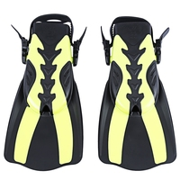 WHALE 2 Size Diving Swimming Fins Comfortable Trek Snorkeling Foot Flipper Snorkeling Swimming Diving For Professional