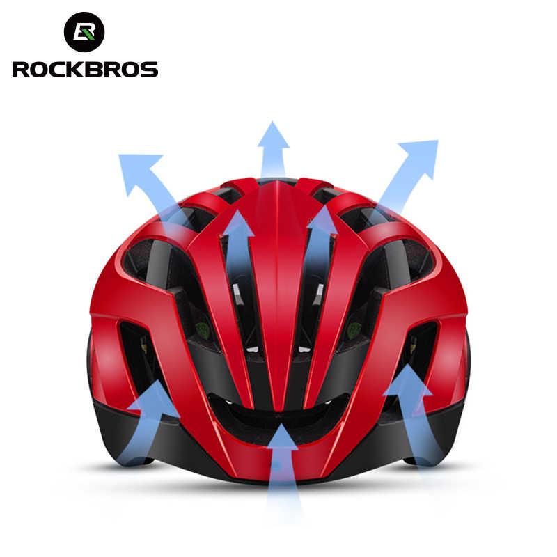 ROCKBROS אופני הרי קסדת 3 ב 1 MTB כביש מחזור קסדות גברים של בטיחות קסדה אינטגרלי יצוק פנאומטי רכיבה על אופניים קסדות