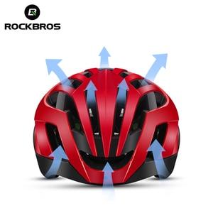 Image 4 - ROCKBROS Mountain Bike Helmet 3 in 1 MTB Road Cycle Helmets Mens Safety Helmet Integrally Molded Pneumatic Cycling Helmets