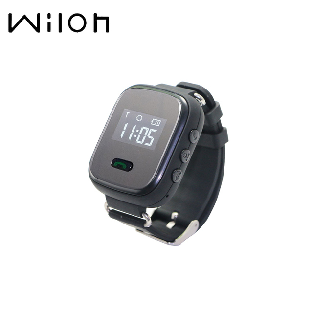 2018 GPS Tracker Watch for Kids Safe GPS Watch Q60 0.96 inch LCD smart Wristwatc